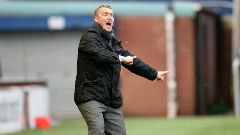 Lee Clark took charge of Kilmarnock for the first time