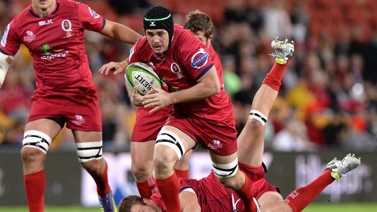 Liam Gill is to leave the Queensland Reds at the end of the Super Rugby season