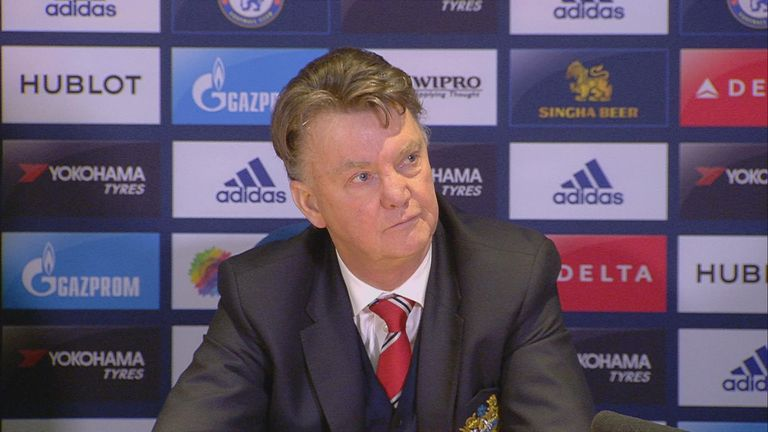 Louis Van Gaal Does Not Think Man Utd Are Lining Up Jose