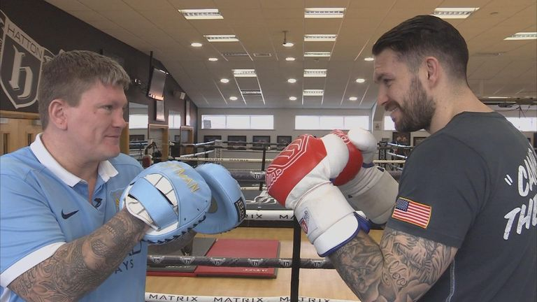 Manchester City fan Ricky Hatton and Liverpool fan Paul Smith have had their say on Sunday's Capital One Cup final.