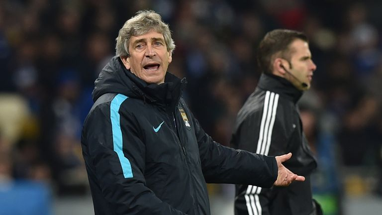 Manuel Pellegrini will be guided City into their Capital One Cup final against Liverpool