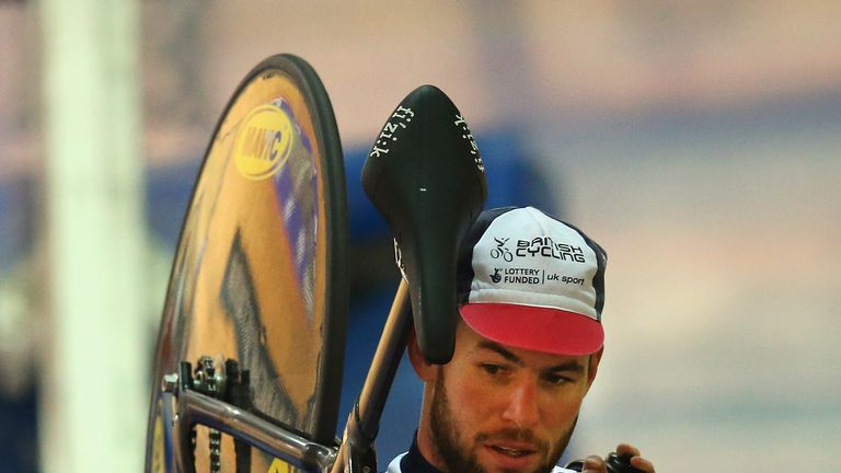 Mark Cavendish wants to ride on the track at the Olympic Games