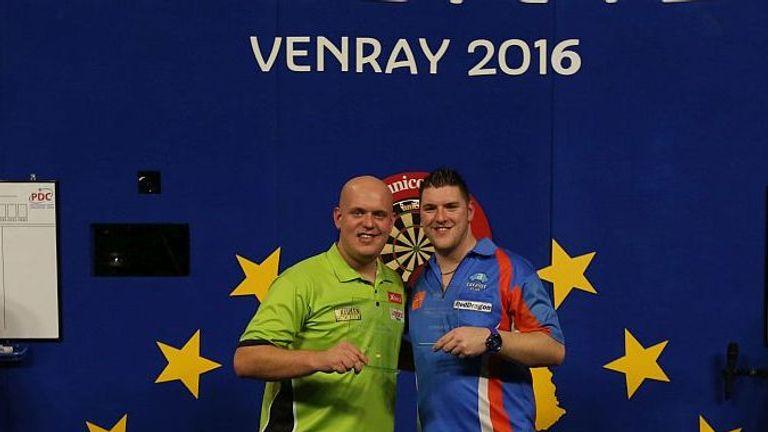 Michael van Gerwen defeated Daryl Gurney in the Dutch Masters final