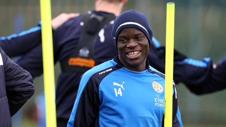 Kante has been one of Leicester's many star performers this season