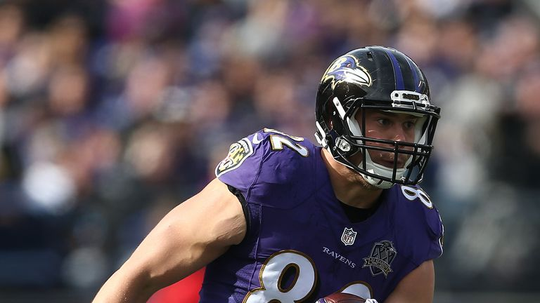 Baltimore Ravens tight end Nick Boyle was previously banned for four games for failing a drugs test
