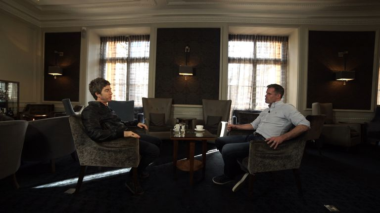 Former Liverpool defender Jamie Carragher sat down with Noel Gallagher this week to preview the Capital One Cup final