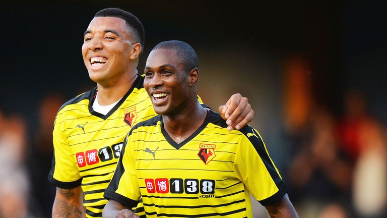 Odion Ighalo and Troy Deeney has formed an impressive partnership at Watford