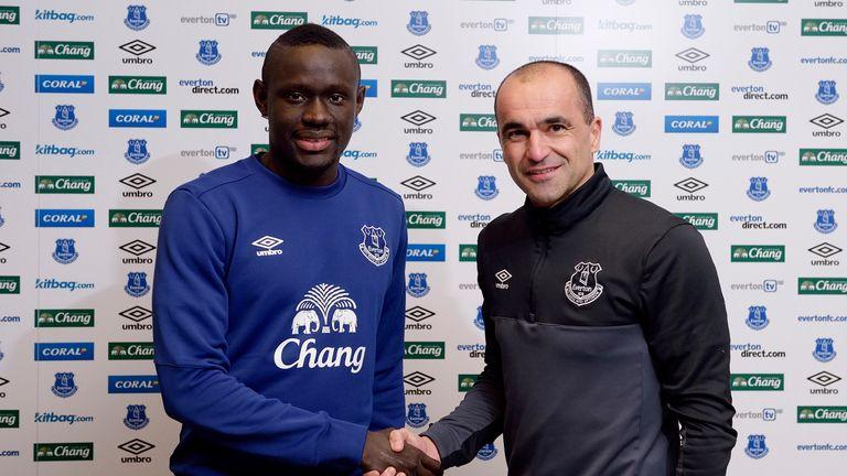 Everton unveil new signing Oumar Niasse (GETTY PREMIUM)