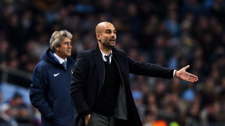Pep Guardiola will replace Manuel Pellegrini in the summer