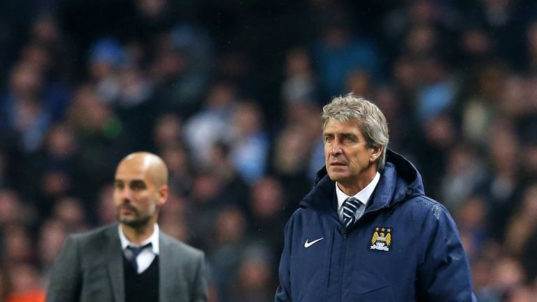 Manuel Pellegrini will be replaced by Pep Guardiola in the summer