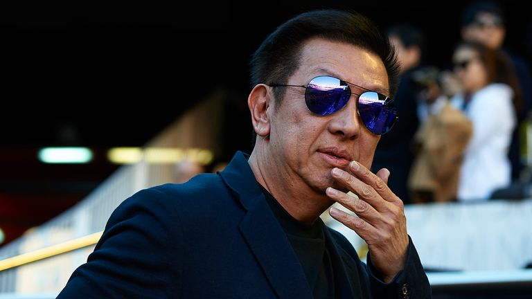 Valencia owner Peter Lim is currently in Singapore