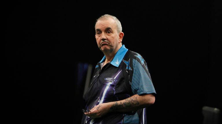 Phil Taylor endured a shock defeat after his Sydney title win at the weekend