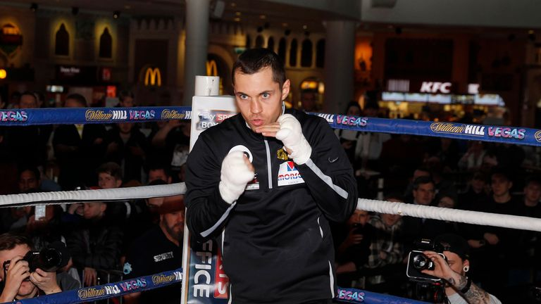 Scott Quigg (Pic by Lawrence Lustig)