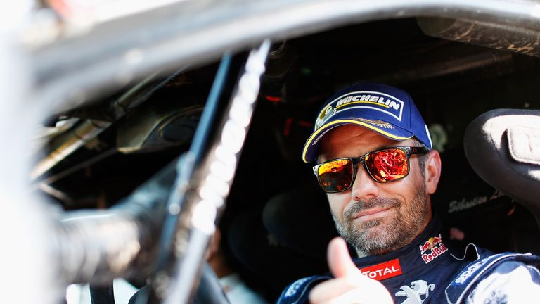 Nine-time world rally champion Sebastien Loeb will race for Peugeot Hansen