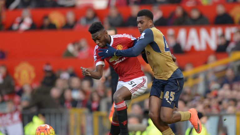 Fosu-Mensah came on against Arsenal and kept Alex Iwobi under wraps