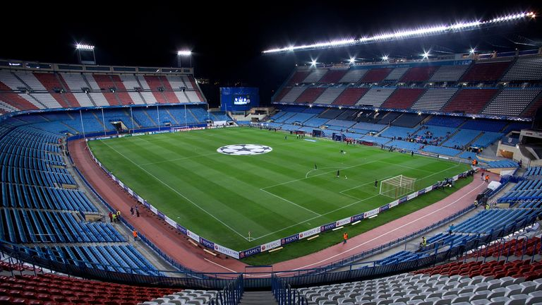 Atletico are in their penultimate season at the Vicente Calderon
