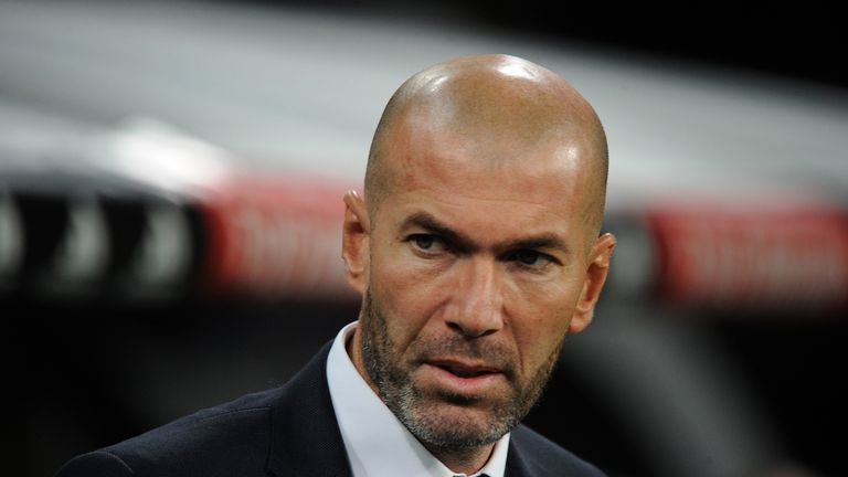Zinedine Zidane: Unsure over his Real Madrid future