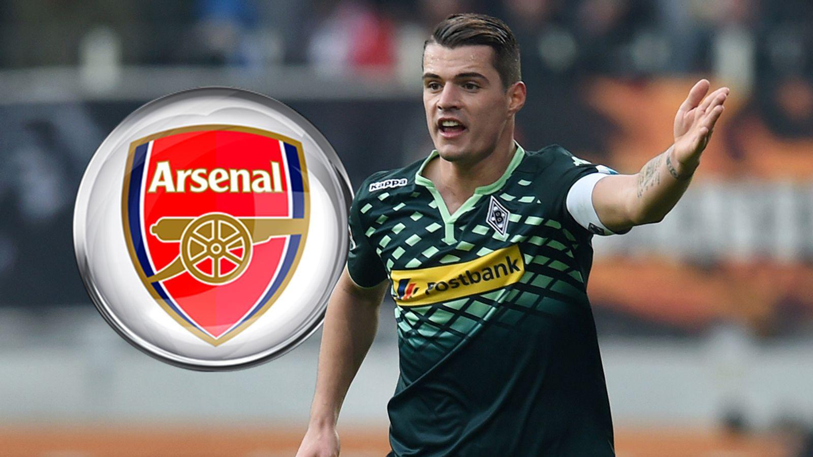 Arsenal 'close in on' midfielder Granit Xhaka - Sky