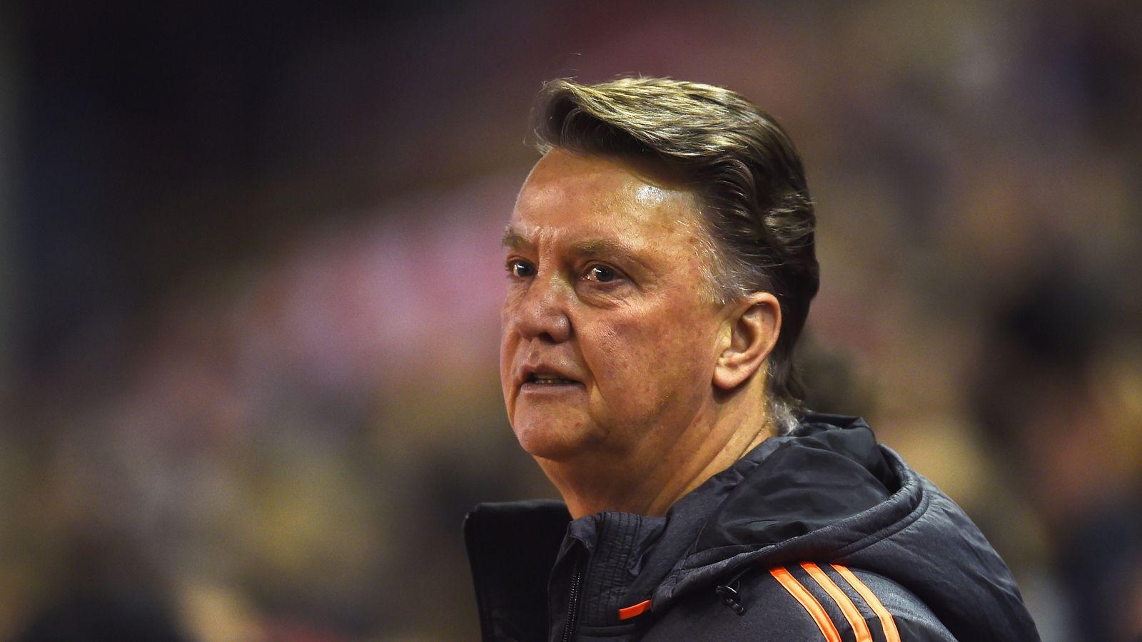 Louis Van Gaal Optimistic Despite Manchester United's