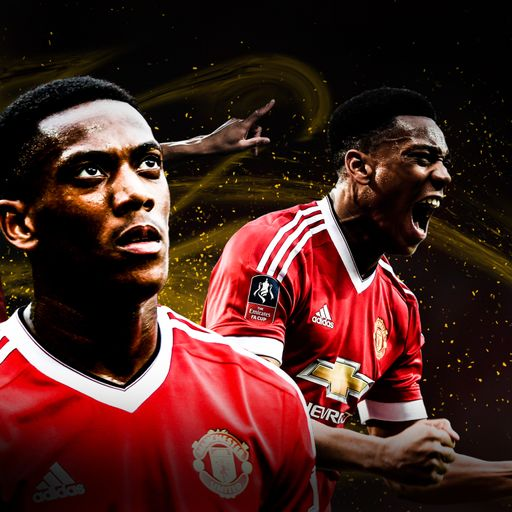Is Martial better out wide?