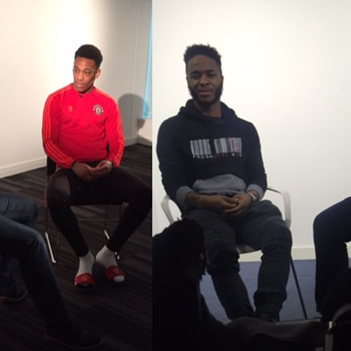 When Shreeves met Sterling and Martial