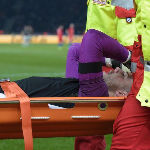 Butland suffers injury