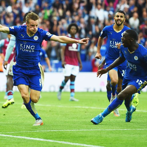 Leicester's remarkable stats