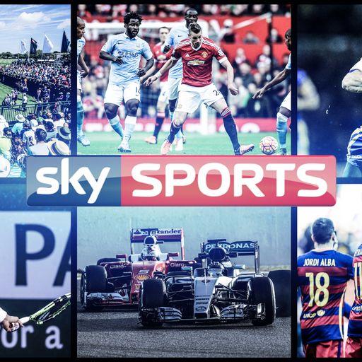 Weekend Menu on Sky Sports