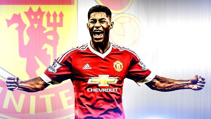 Teenage striker Marcus Rashford was Manchester United's derby hero