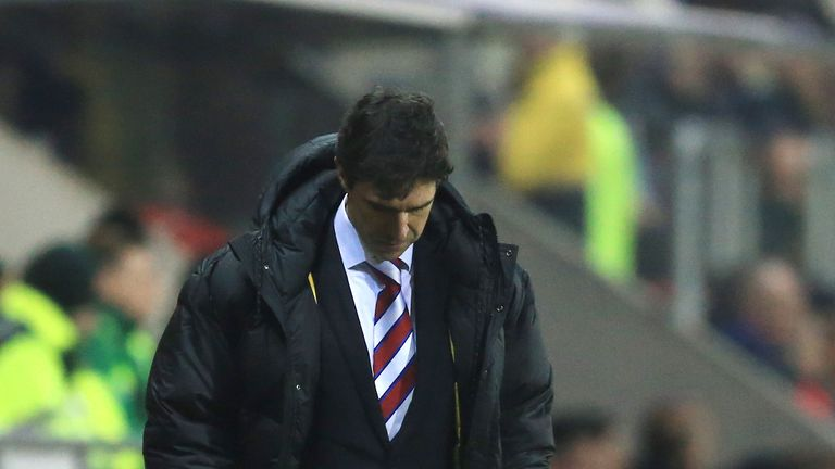 Karanka looked set to be leaving the Riverside Stadium at the weekend