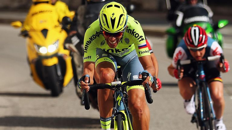 Alberto Contador produced a rousing performance on the final stage of Paris-Nice