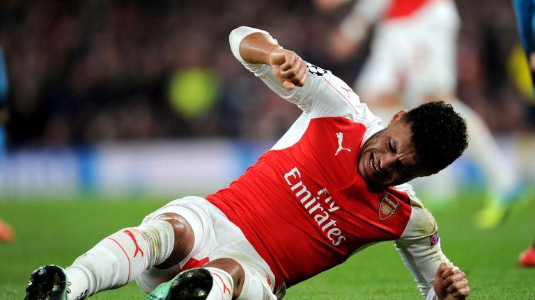 Arsenal's Alex Oxlade-Chamberlain injured