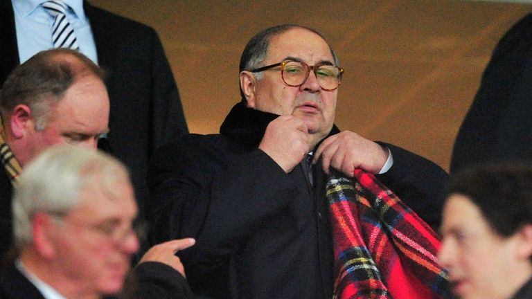 Usmanov recently increased his stake in the club to around 30 per cent