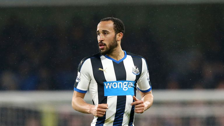 Newcastle United's Andros Townsend