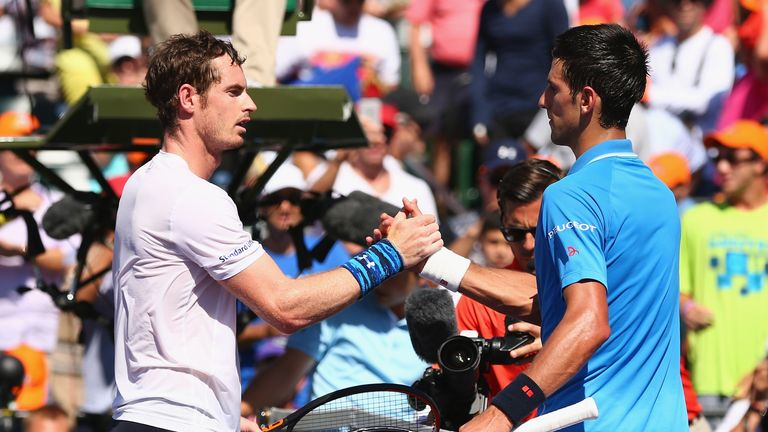 Murray could meet Novak Djokovic in the Miami final