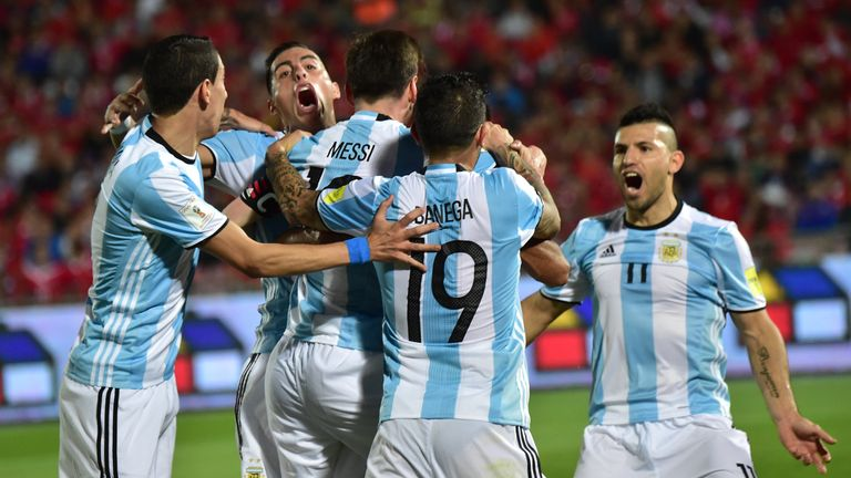 Argentina will face Chile, Bolivia and Panama in Group D at the Copa America  Centenario