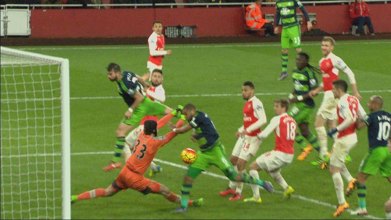 Ashley Williams: Was it a handball?