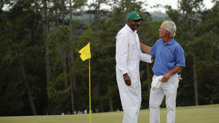Ben Crenshaw played his final Masters last year with Carl Jackson on his bag