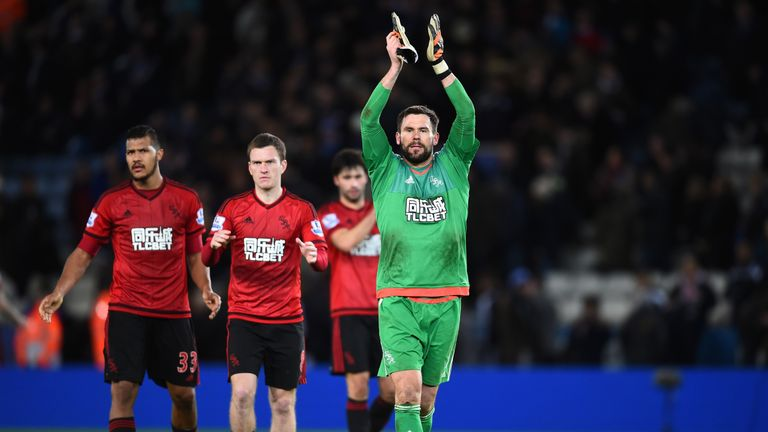 West Brom held Leicester to a draw at the King Power