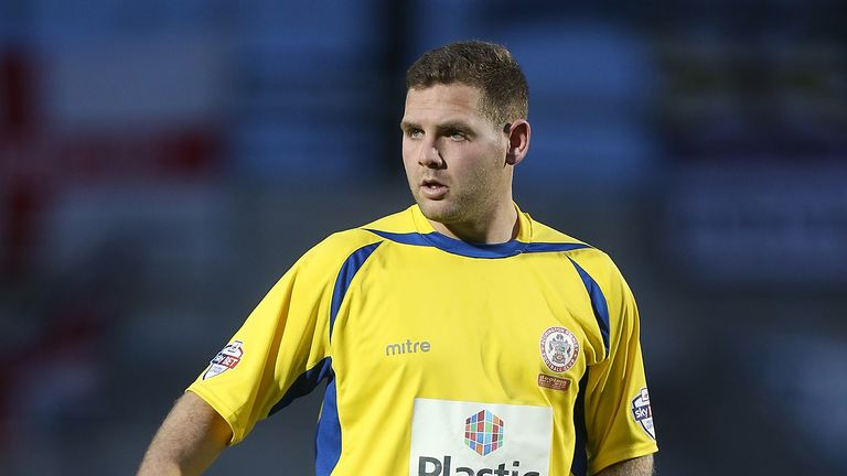 Billy Kee of Accrington Stanley is being tipped for another good season in front of goal
