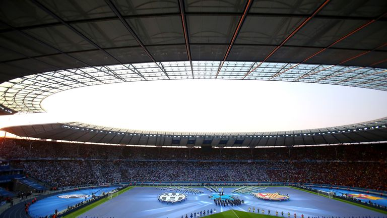 Champions League Final between Juventus and FC Barcelona at Olympiastadion
