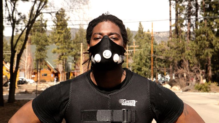Charles Martin is in training to fight Anthony Joshua