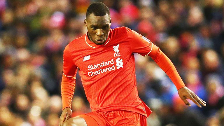 Christian Benteke came off the bench in the victory over Manchester City