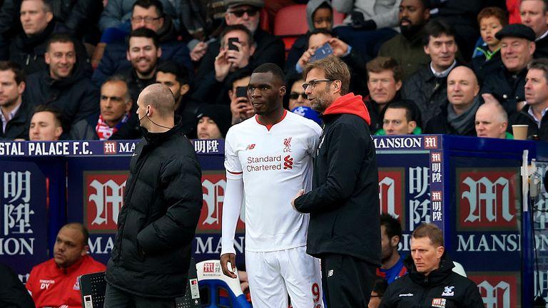Christian Benteke, Jurgen Klopp, Crystal Palace v Liverpool, Premier League