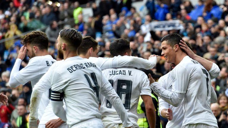 Real Madrid 7-1 Celta Vigo: Cristiano Ronaldo hits four   Football News   Sky Sports