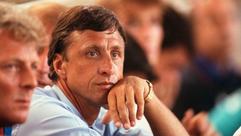 Barcelona manager Johan Cruyff (1992)