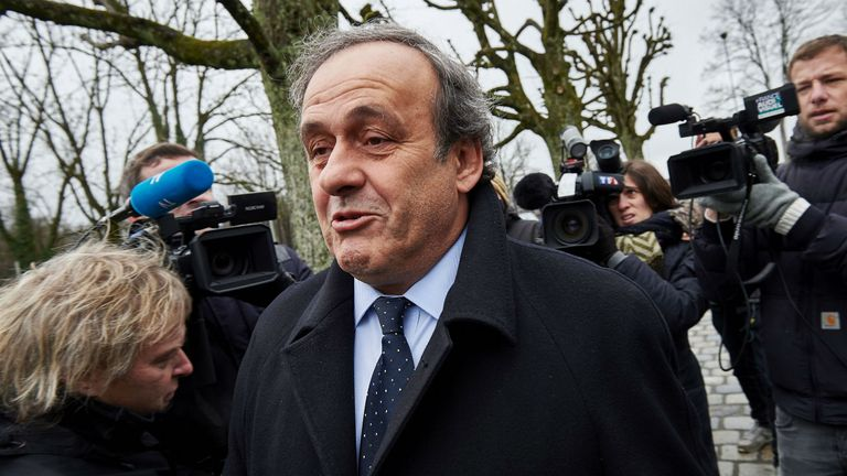 Michel Platini captained France to European Cup success in 1984