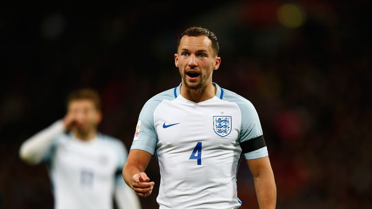 Danny Drinkwater of England during the International Friendly match between England and Netherlands at Wembley Stadium