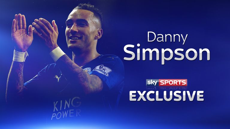 Leicester's Danny Simpson speaks exclusively to Sky Sports
