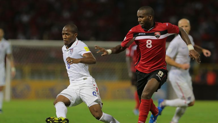 Portand Timbers' Darlington Nagbe was called up to the US national team in November last year